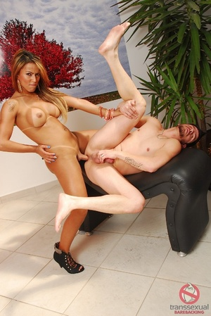 Saucy Latina ladyboy still healing from breast surgery gets a thorough dicking in elegant bedroom. - XXXonXXX - Pic 10