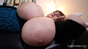 Different fat and sexy blondes displays  - XXX Dessert - Picture 3