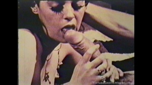 Vintage chicks getting fucked in doggy and missionary positions while others eat cocks and gets their pussies licked and spunked. - XXXonXXX - Pic 10