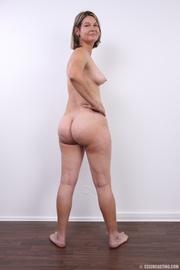 Ass wet pantyhose brunette