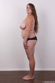 fat chick wearing black