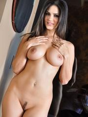 Impeccable slut drops her black and white lingerie - XXXonXXX - Pic 12