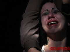 Emo chick in a white dress experiences pain from - XXXonXXX - Pic 10