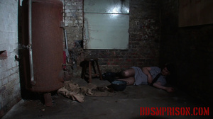 Chubby lady guard gets her butt spanked for letting a prisoner escape. - XXXonXXX - Pic 6