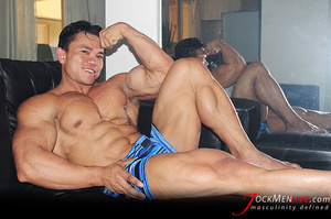 Only handsome sexy dude presenting their firm muscular bodies for your pleasure - XXXonXXX - Pic 2