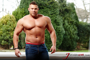 Huge hung flaunting his big muscular body for your pleasure - XXXonXXX - Pic 11
