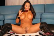 lustful girl black tight