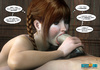 Nasty toon teen with plaits sucking a dong to make it hard
