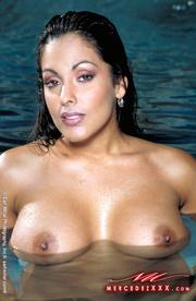 attractive sex goddess pool