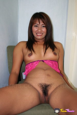 Asian hottie displays her smoking hot body in pink underwear while she strips them off piece by piece before she sucks a huge dick then lets it penetrate deep in her pussy on a white bed. - XXXonXXX - Pic 4