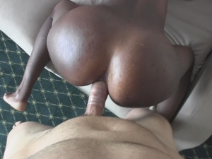 Different African girls munching huge dicks while others gets banged in doggy position in soft beds and couches. - XXXonXXX - Pic 1