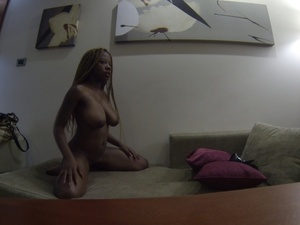 Different African girls munching huge dicks while others gets banged in doggy position in soft beds and couches. - XXXonXXX - Pic 4
