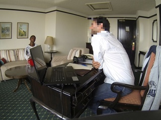 African beauties having their interviews in - XXXonXXX - Pic 2