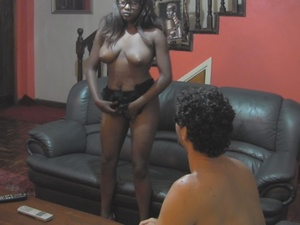 Smoking hot chicks with black skins gets banged separately in cowgirl, missionary and doggy positions. - XXXonXXX - Pic 3