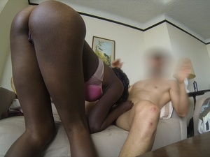 Gorgeous black chicks munching hard cocks while others gets their ass and pussy screwed in different positions. - XXXonXXX - Pic 4