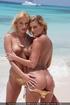angelic girls golden bikini