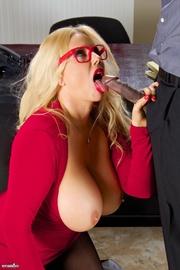xxx glass sexy Blonde porn star
