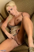 blonde, individual model, pussy, shaved