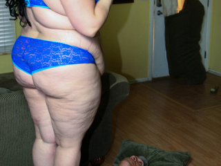 Big fat babes display their fattie curves wearing - Picture 4