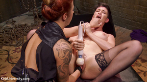 Fisting, power vibe and spanking games a - XXX Dessert - Picture 10