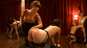 Pack of pervs have some kinky group sex  - XXX Dessert - Picture 13