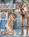 Cool comics with old fart in fishnet long socks…
