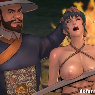 Long-haired Asian toon bastards - BDSM Art Collection - Pic 3