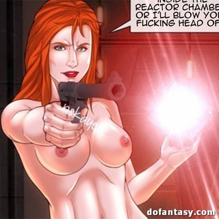 Red toon slave gets aggressive after - BDSM Art Collection - Pic 4