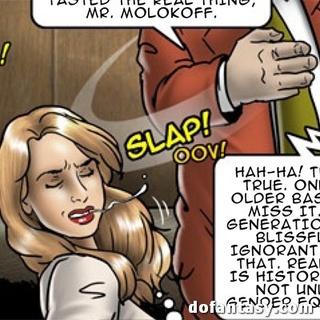 Slut girl 6 final comic