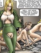 Poor slave girls in cow horns, hoots and tails getting drilled by their