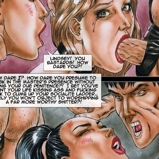 Dirty cartoon orgy with busty hotties - BDSM Art Collection - Pic 3