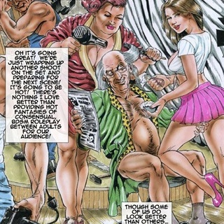Dirty cartoon orgy with busty hotties - BDSM Art Collection - Pic 4
