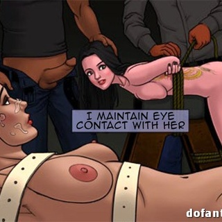 Toon slave gals in bondage get caned - BDSM Art Collection - Pic 3