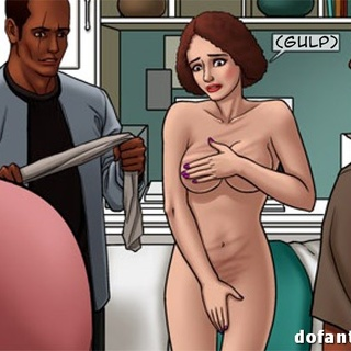 Brunette slave whipped and bound to the - BDSM Art Collection - Pic 2