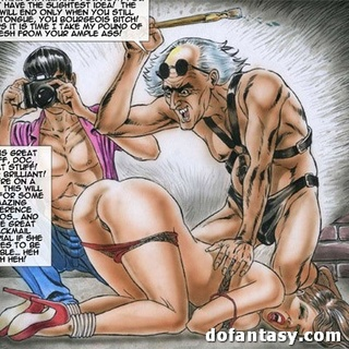Enchained and bound toon girls getting - BDSM Art Collection - Pic 4