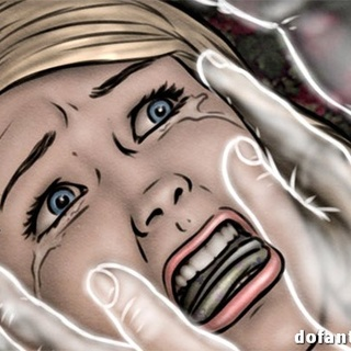 Bound and stretched blondie in white - BDSM Art Collection - Pic 4