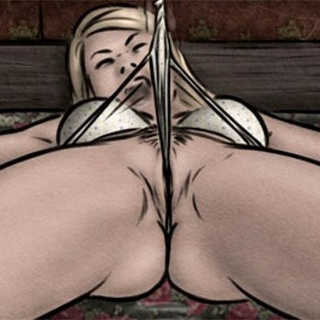 Kinky ghost torturing his enslaved - BDSM Art Collection - Pic 2