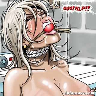 Red and blonde toon hotties getting - BDSM Art Collection - Pic 2