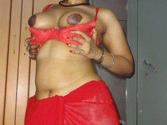 Stunning Indian chick displays her hot curves in - XXXonXXX - Pic 9