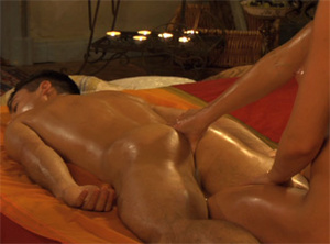 Sensual Indian oil massage with cock rubbing and ass fingering - XXXonXXX - Pic 3