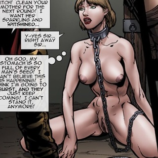 Enchained slave girls get treated like - BDSM Art Collection - Pic 4