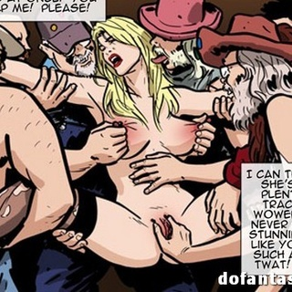 Naked blonde seeks for help but gets in - BDSM Art Collection - Pic 4