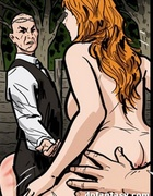 Redhead babe gets herself into a hot ass spanking.…