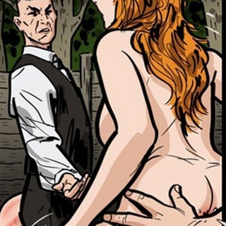 Redhead babe gets herself into a hot - BDSM Art Collection - Pic 2