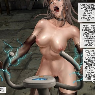 Busty babes get electrocuted if they - BDSM Art Collection - Pic 4