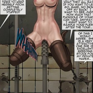 Girls are working hard to not be - BDSM Art Collection - Pic 1