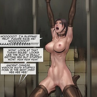 Girls are working hard to not be - BDSM Art Collection - Pic 2
