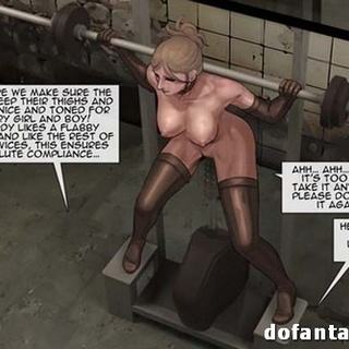 Girls are working hard to not be - BDSM Art Collection - Pic 3