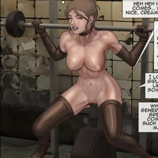 Girls are working hard to not be - BDSM Art Collection - Pic 4