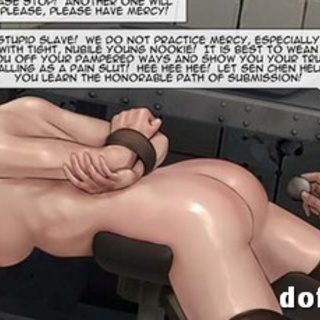 Babe got metal balls and dick inside of - BDSM Art Collection - Pic 1